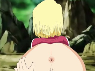 Android 18 and Krillin parody xxx 2 from Dragon Ball Super (Reloaded)