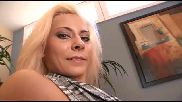 Young Smoking Hot Blondie With Tight Tiny Shaved Pussy Gets Rough Fucked On The Couch 11