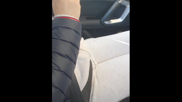 Step mom in leggings caught fucking step son in the car 19