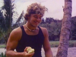 He fucks me while eating an apple...