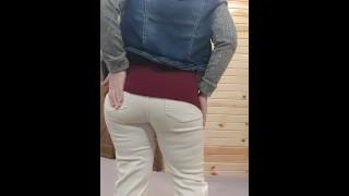 Amateur Milf Strip