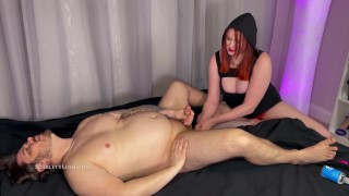 Anal Training with real Femdom Couple