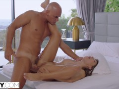 TUSHY Good girl Talia has intense anal with stranger