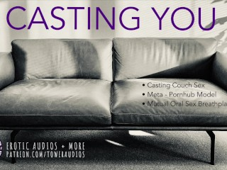 Casting you audio role play for women m4f...