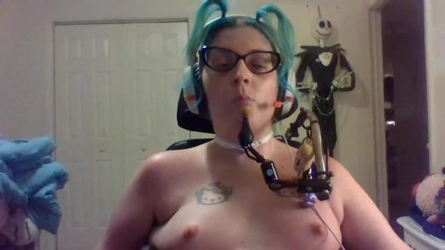 Naked Quadriplegic Gets Suctioned - TheCrippleThreat 49