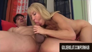 Golden Slut - Blonde GILFs Know How to Treat a Cock Compilation