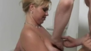 Chubby Dutch Blonde Getting Drilled On Her Pussy To Feel