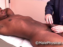 Straight Male Doctor Office Physical Exam