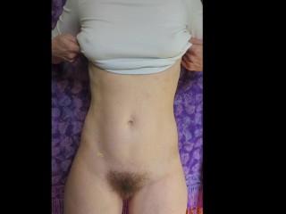 Cummybush boob and bellybutton this milf has an...