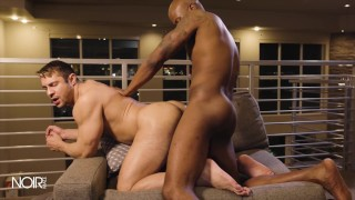 Noir Male - Hot Man Seth Santoro Gets His Ass Fucked By Troy Vezel Bbc
