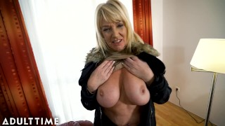 ADULT TIME Big Titted Gilf Gets Fucked By A Lucky Stud