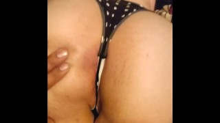 Teasing my Ex with my Big Fat Booty!