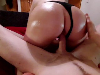 Amature tight pussy almost can't handle Big cock