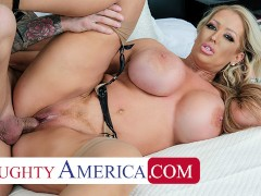 Naughty America - Alura Jenson's experience gives Quinton the best fuck of his life