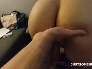 Follando con mi novia joven de culo grande (video completo en onlyfans link en bio)