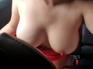 Indriver doesnt know Im cumming while he takes me home