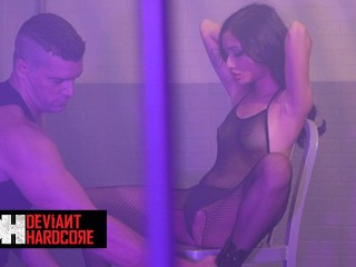 Deviant Hardcore - Avery Black Is Begging For Her Dom's Cock By The Time He's Finished Spanking Her