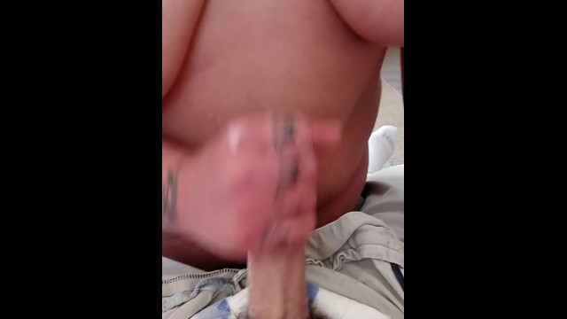 Getting a facial from cock 1