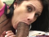 Ginger could not WAIT to get her Married mouth on some BBC