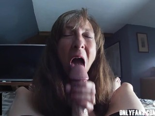 Sexy Granny Big Cock Swallow Cum Compilation