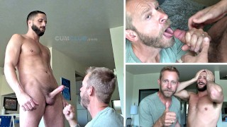 Swallowing Chase Parker | Vocal Stud Feeds a Cum Load | Incredible BJ | + Outtakes