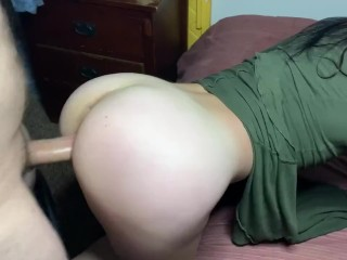 Fucking Her Nice Ass Doggystyle while No Ones Home. Horny Slut