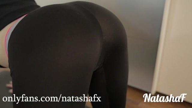 Sexy Teen Yoga Pants Fucked
