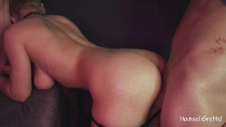 I made Him Lick Pussy and Then He Fucked Me Hard Standing Up & Filled My Pussy Cum – 4K Amateur