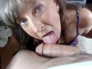Mouth filled...