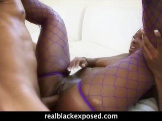 Aryana Starr Just Loves To Spread For Cock And Tongue