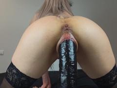 Slutty Babe cums hard while thinking about her BBC Boyfriends - 4K