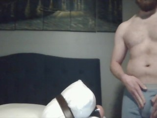 Fucking my fleshlight while still wearing my underwear