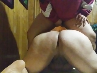 Latina humps phat ass lexis shemale over and...