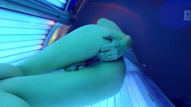 Vibrator in the Tanning Bed 12
