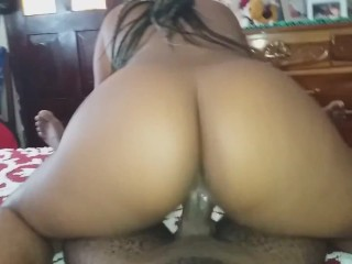 Step Sister Riding Off my Dick for My Birthday.  (Onlyfans for more)