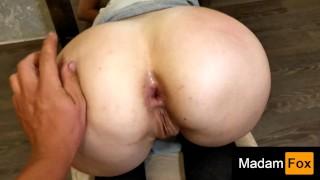 He fucks my ass hard. POV anal. MadamFox Anal
