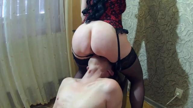 Two sluts dominate a guy. 16