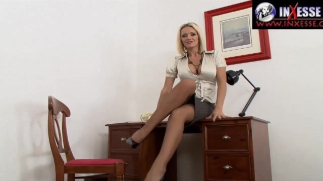 INXESSE RADICAL WS LADY SONIA PRESENTS LUCY ZARA IN WANKING AT SONIAS OFFICE DESK - UK BIG TIT MILF 1
