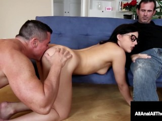 Sweet Young Geek Girl Whitney Wright Gets Rimmed And Dicked!