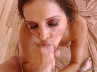 POV Big Cock Anal For MILF Francesca Le
