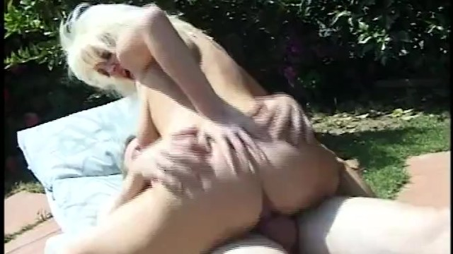 All Natural White MILF With Huge Tits And Shaved Pussy Gets Fucked By Her Nieghbor 14
