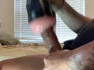 Dirty talking fucking flesh light pt1...