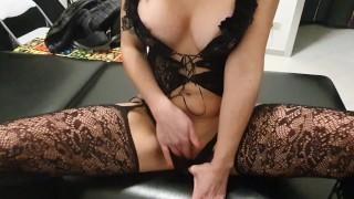 stepmother fuck stepson. Pov video pussy open big dick inside