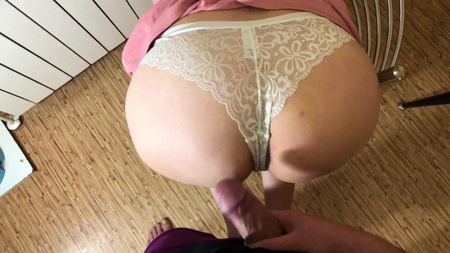 Getting Fucked Pink Thong