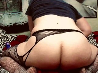 Toying booty...