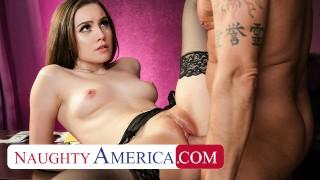 Naughty America - Freya Parker cheats on husband with old strip club boss