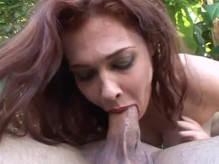 Gorgeous milf gets her pussy shaved and rough...