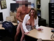 XXX PAWN - Foxy Business Lady Gets Fucked In Shop Backroom free amateur nudes