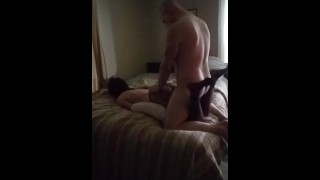 Super hot, tiny, and exotic Native girl gets hard-core fucking from a buff white dude w/ a big dick