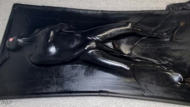 Vacbed + Lube + Bad Dragon Nox Dildo + Wand = Multiple Orgasms for Miss Perversion